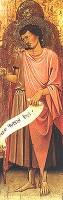 Jacopo di Paolo, San Giovanni Battista, deposito da Collezione privata, 2001, Museo Davia Bargellini