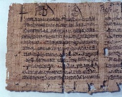 Miscellanea in scrittura ieratica