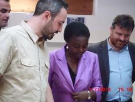 Visita della Ministra per l'integrazione Cecile Kyenge (1° luglio 2013)