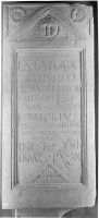 Stela of Lucius Statorius Bathyllus