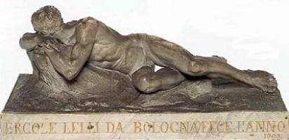 Ercole Lelli, Nudo maschile disteso, acquisizione, 1998, Incontri & arrivi 5, Museo Davia Bargellini
