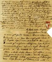 Lettera diretta al Console del Re delle Due Sicilie a Malta