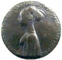 Medaglia di Pisanello per Cecilia Gonzaga