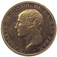 Medaglia di Droz per Napoleone I Bonaparte