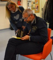 Lo scrittore Marco Malvadi - novembre 2014