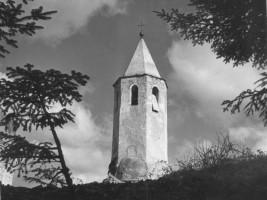 Marcello Lanzoni - Il vecchio campanile di Lizzano in Belvedere