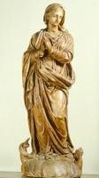 Giuseppe Maria Mazza (ambito di), Madonna Immacolata, acquisizione, 1991, Collezioni Comunali d'Arte