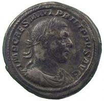 Medaglione in argento di Filippo I