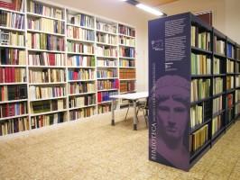 La biblioteca del Museo Civico Archeologico