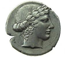 Tetradracma in argento di Leontini