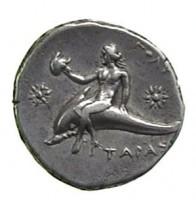 Didracma in argento di Taranto
