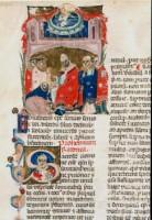 Miniatore bolognese, Pagina di decretali, acquisizione, 1996, Incontri & arrivi 5, Museo Civico Medievale
