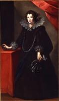 Ritratto di dama, 1640 ca.
