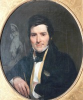 Ritratto di Cincinnato Baruzzi, 1833/34