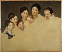Ritratto della famiglia Insom,  1815