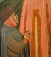 Particolare del ritratto Annunciazione