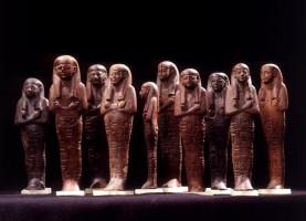 Ushabti del faraone Sety I (1290 - 1279 a.C.) - XIX dinastia