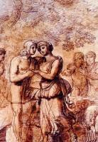 Da Pelagio Palagi, L'incontro di Giacobbe e Rachele, dono del Centro Commerciale Vialarga, 1999, Collezioni Comunali d'Arte