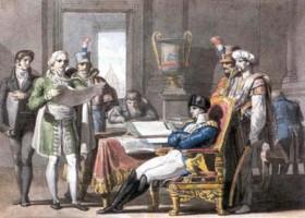 Pelagio Palagi, Napoleone istituisce il Regno d'Italia/2, acquisizione, 1998, Incontri & arrivi 5, Collezioni Comunali d'Arte