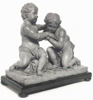 Prudenzio Piccioli (?), Gesù Bambino e San Giovannino, acquisizione, 1991, Museo Davia Bargellini
