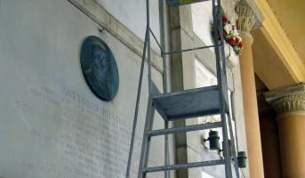 Al via la manutenzione dei Monumenti Puntoni e Spada alla Certosa di Bologna