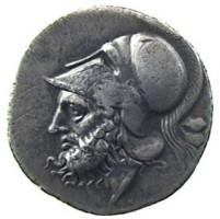 Didracma in argento 'romano-campana'