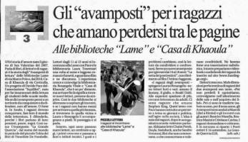 Articolo su Repubblica 28 giugno 2011