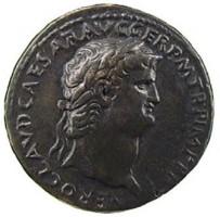 Sesterzio in bronzo di Nerone