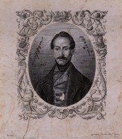 Ritratto giovanile di Giuseppe Mazzini