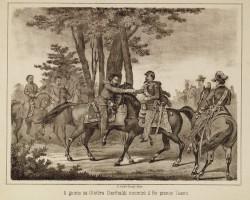 Roberto Focosi , Il giorno 26 ottobre Garibaldi incontrò il Re presso Teano