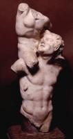 Satiro con Dioniso bambino sulle spalle
