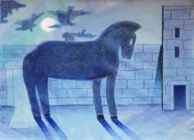 cavallo chiuso