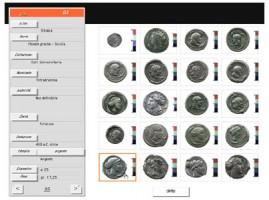 L'interfaccia di visualizzazione del risultato della ricerca (miniature)