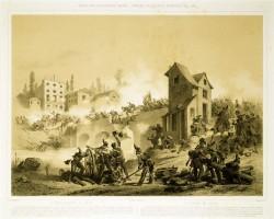 Stanislas Grimaldi, Primo combattimento di Goito