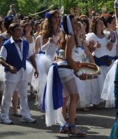 La parata nelle vie del Pilastro