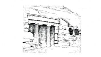 Tomba scavata nella roccia