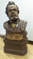 Il busto dopo il restauro nel Laboratorio di Patrizia Moro