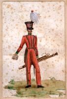 Uniformi per la Guardia Nazionale di Bologna
