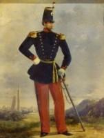 Uniformi della Legione Bolognese. Capitano in tenuta