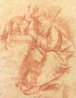 Domenico Maria Viani (?), San Giuseppe col Bambino, dono di RTI s.p.a.- reti televisive italiane, 1997, incontri & arrivi 5, Collezioni Comunali d'Arte