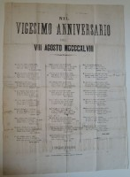 Ode in strofe saffiche edita quindi nelle «Poesie», 1871