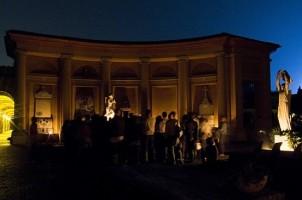 Immagine di repertorio degli appuntamenti serali in Certosa. Foto Raffella Graziosi