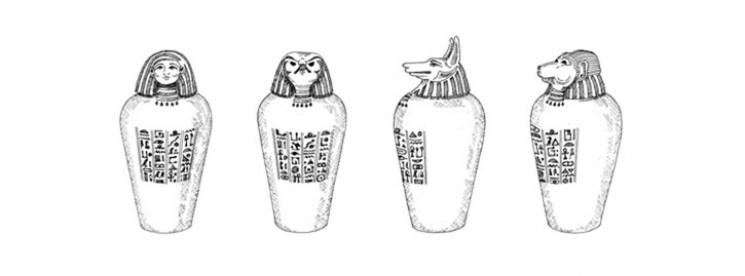 4 tutte le anime della mummia per i piu piccoli 4 for Disegno vaso da colorare