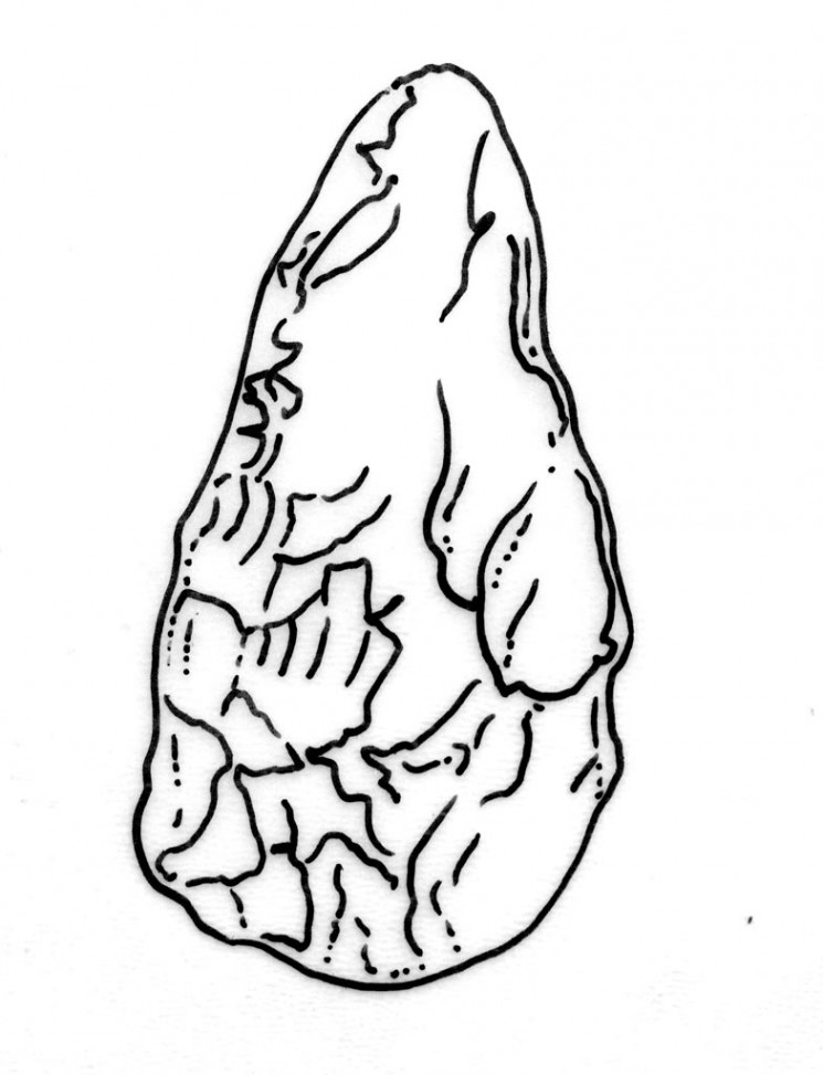 1 la preistoria la pi antica et della pietra per i for Disegni frontali in pietra