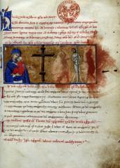 Maestro della Bibbia Latina 18, Statuti e matricole  dei Devoti Battuti di S. Maria della Vita, 1286 ca.,  Bologna, Biblioteca dell'Archiginnasio