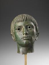 Testa di giovinetto, Firenze, Museo Archeologico Nazionale, Polo Museale della Toscana, 330 a.C. circa