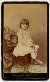 La nipotina Elvira, figlia della primogenita Bice