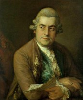 Thomas Gainsborough, ritratto di Johann Christian Bach