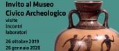 Incontri al Museo Archeologico 2019 - 2020