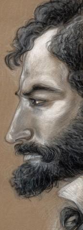 Edoardo Brizio (disegno di Elena M. Cané)